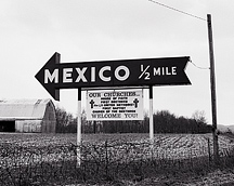 The small rural town of Mexico, Indiana