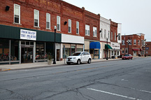 Small towns in Indiana